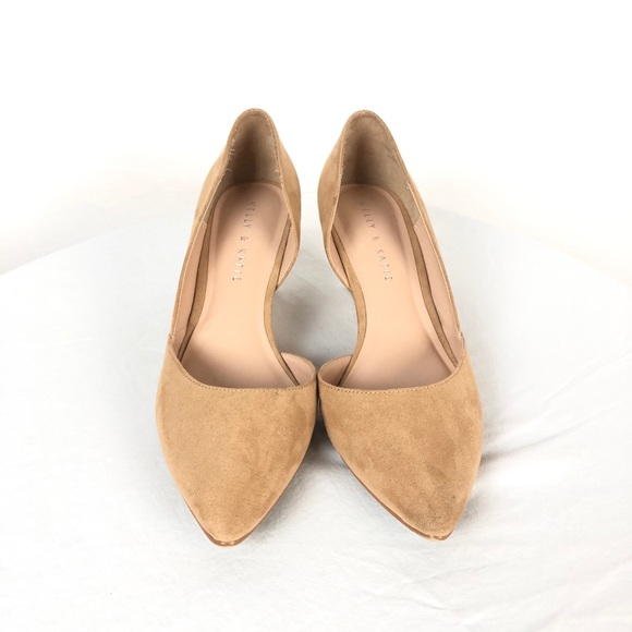 fbb74a70400 Kelly   Katie Shoes - Kelly and Katie Pointed Wedge Cream Fassi Shoes